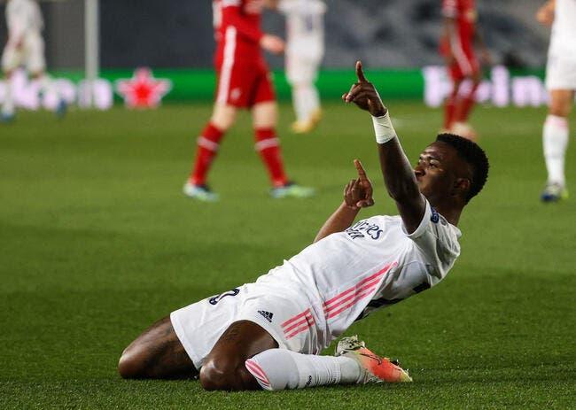 LdC : Vinicius porte le Real face à Liverpool