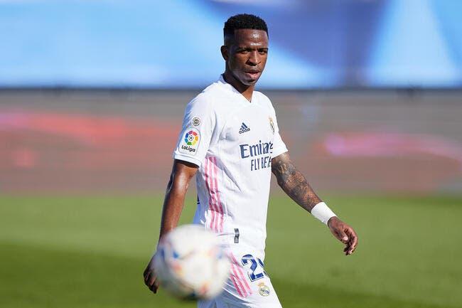 Mercato : Vinicius entre le PSG et Liverpool ?