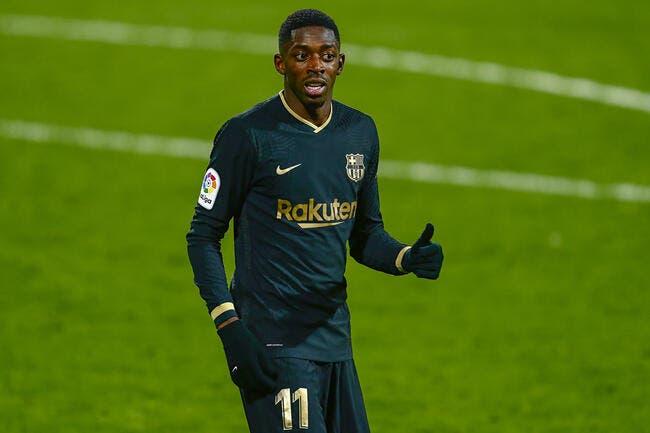 Esp: Dembélé trop gourmand, le Barça prêt à lui montrer la sortie