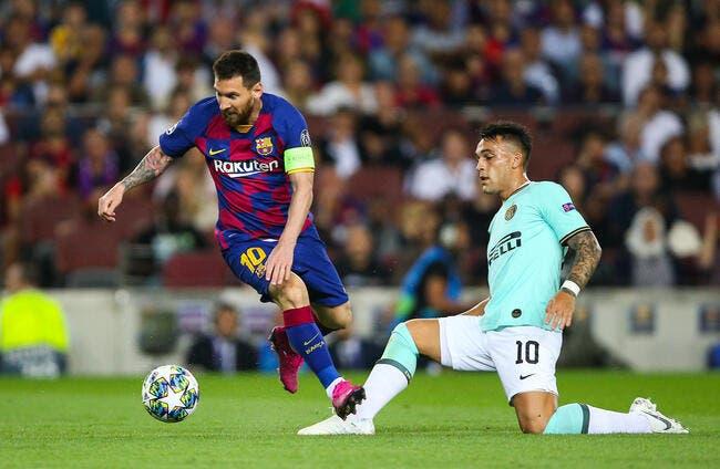 Barça : Messi patron du mercato, Lautaro Martinez le paye cher