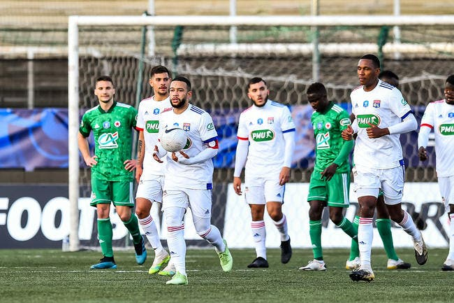 CdF : L'OL s'en sort difficilement contre le Red Star