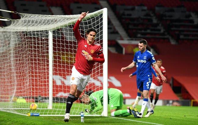 Ang: Cavani retarde le mercato de Manchester United