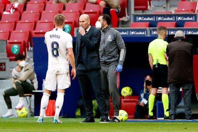 Real : Zidane annoncé à la Juve, Kroos emballé