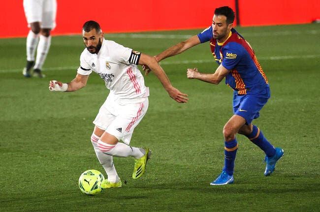 Esp : La merveille signée Benzema contre le Barça
