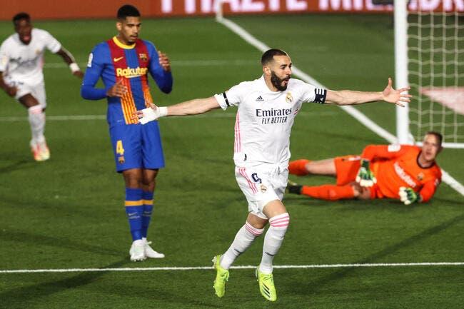 Esp : Madrid tape le Barça et devient leader !