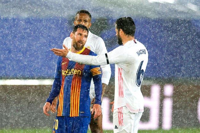 Esp : Le Barça accuse l'arbitre du Classico