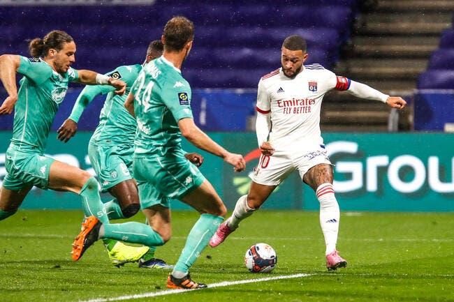 OL : Paqueta, Depay, Slimani... Les Tops et les Flops contre Angers