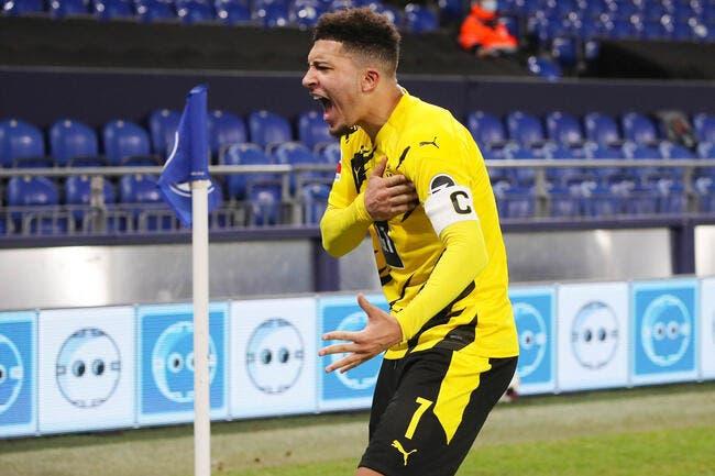 LDC : Sancho forfait contre Manchester City