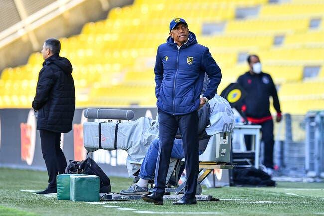 FCN: Kombouaré refroidi, Nantes droit vers la Ligue 2