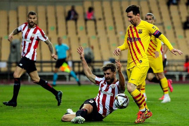 Esp : Le Barça et un Messi XXL gagnent la Coupe du Roi