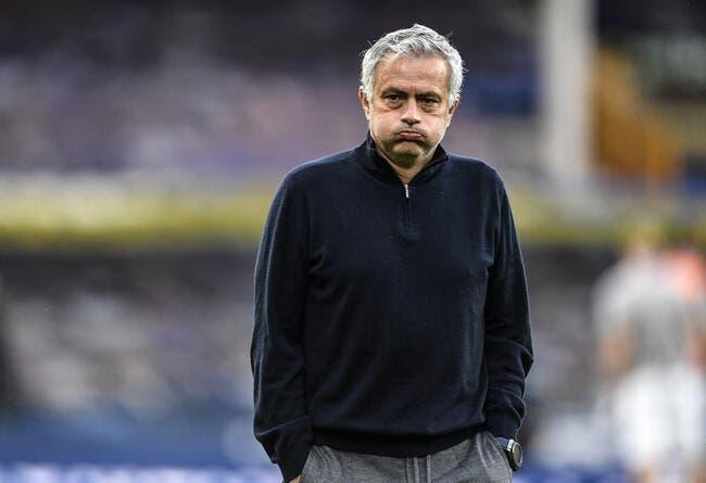 Ang : José Mourinho viré par Tottenham !