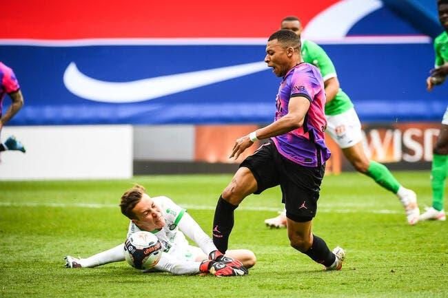 ASSE : Green chambré par Mbappé ?