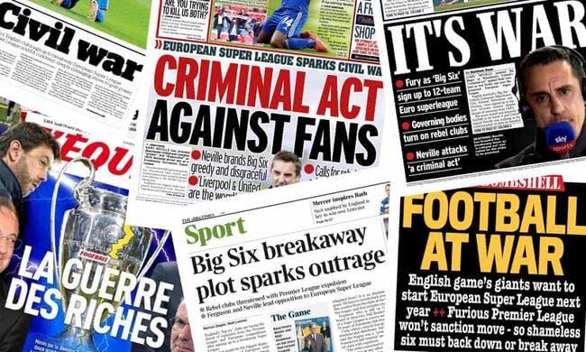 Revue de presse : «C'est la guerre», «Acte criminel contre les fans», «SuperLigue, Super Non»