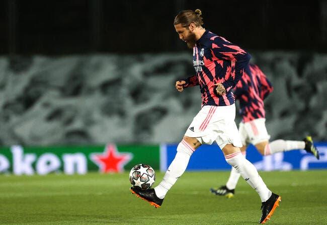 PSG : Un concurrent inattendu dans le dossier Sergio Ramos ?