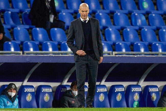 Real Madrid : Zidane peut s'énerver, voici la preuve