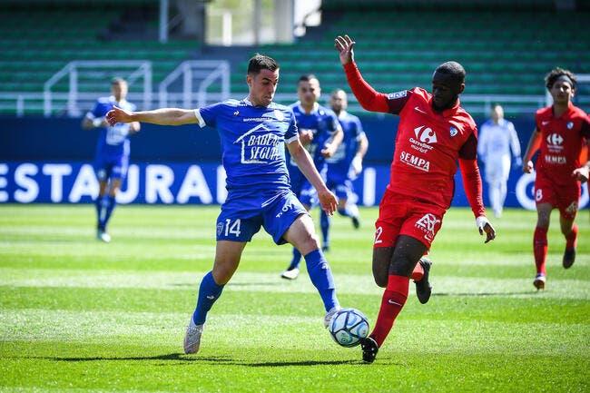 L2 : Troyes se rapproche de la L1