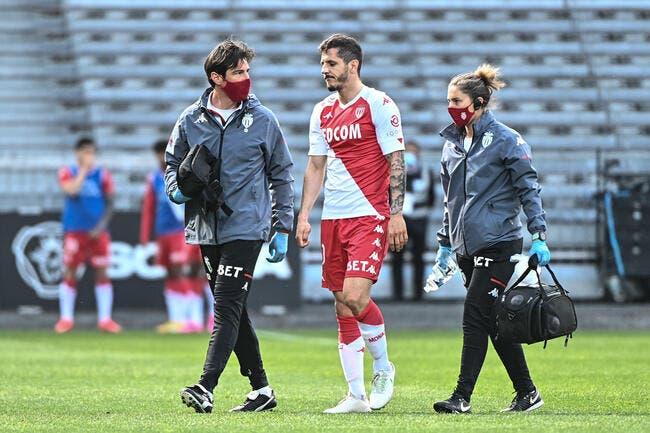 Monaco : Jovetic forfait contre Lyon