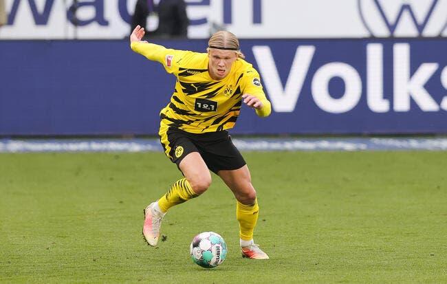 BVB : Dortmund fixe le tarif d'Haaland, ça pique