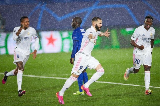 LdC : Benzema sauve le Real face à Chelsea