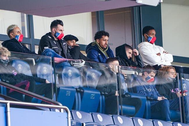 PSG-City : Bernat unique absent du groupe parisien
