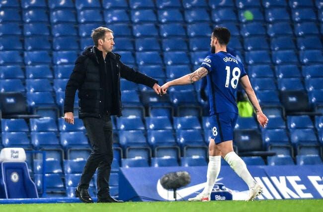 Ang : Chelsea veut le prolonger, Giroud n'y comprend rien