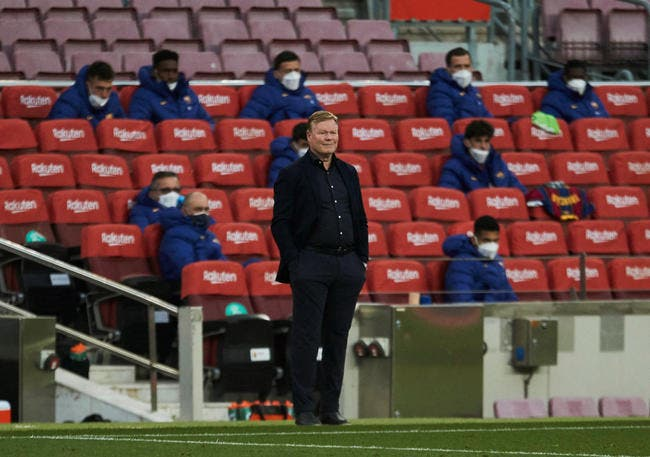 Barça : La Liga ou Xavi, Koeman est prévenu