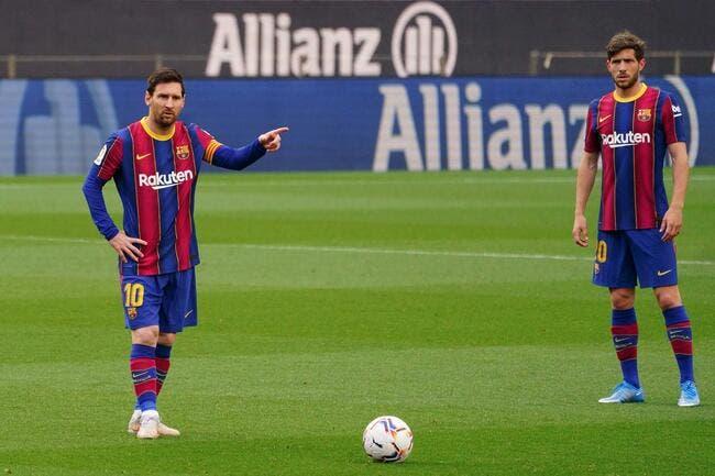 Esp : Luis Suarez interdit à Messi de quitter le Barça