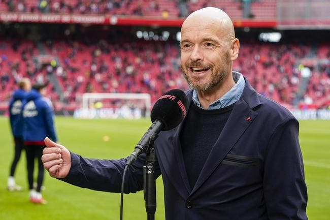 PL :  Ten Hag snobe Tottenham et prolonge à l'Ajax