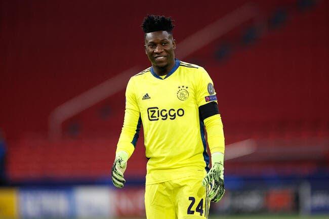 OL : L'Ajax traîne les pieds, Onana n'est pas à Lyon