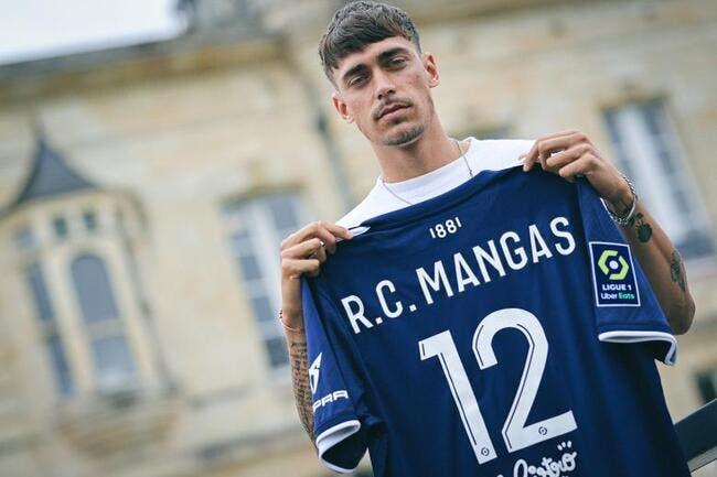 L1 : Ricardo Mangas signe aux Girondins de Bordeaux