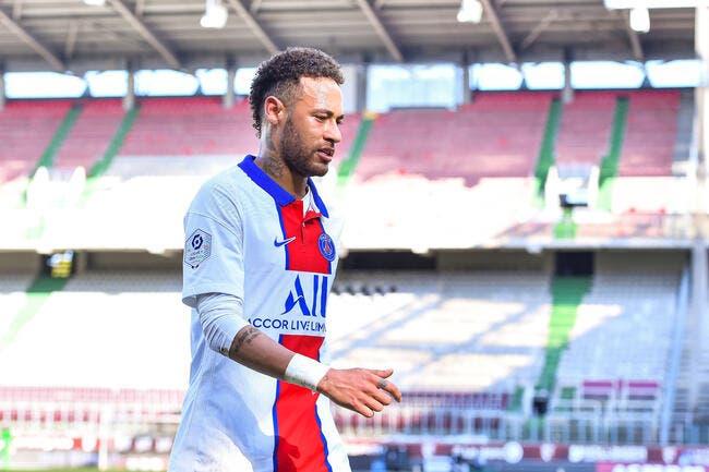 PSG : Neymar agacé, il n'a pas pris un gramme