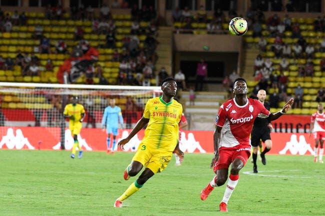L1 : Monaco accroché d'entrée par Nantes