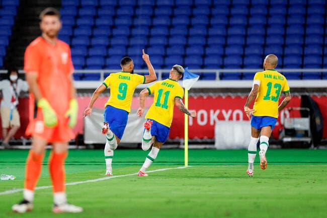 JO : Malcom offre la médaille d'or au Brésil !
