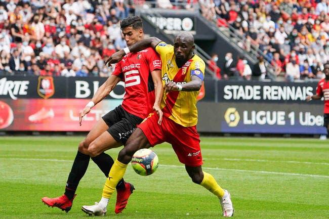 Rennes et Lens, un 1-1 de plus de Ligue 1