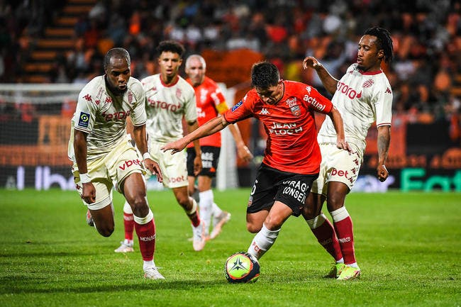 L1 : Monaco prend une claque à Lorient