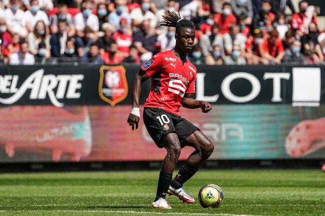 SRFC : Camavinga n'a plus la tête au foot