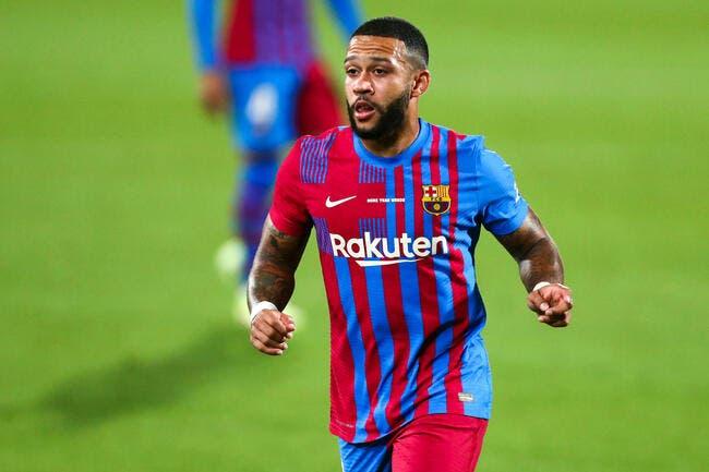 Barcelone : Memphis Depay et Eric Garcia qualifiés pour la Liga !