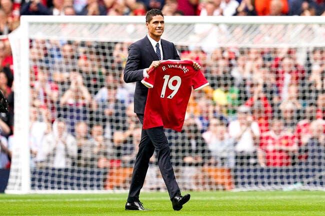 Mercato - Raphaël Varane à Manchester United, c'est officiel