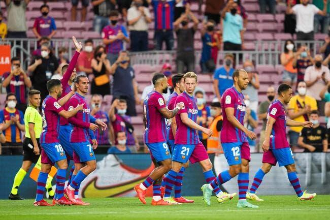 Liga : Sans Messi, le Barça réussit sa rentrée