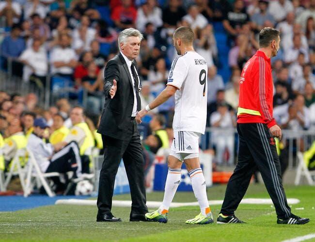 Madrid : Karim Benzema en feu, Ancelotti jubile !