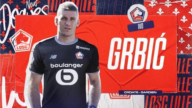 Officiel : Grbic prêté par l'Atlético de Madrid à Lille
