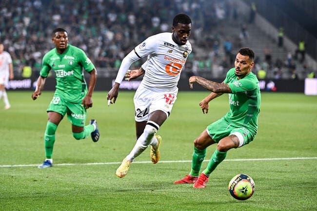 L1 : Les Verts privent Lille d'une première victoire
