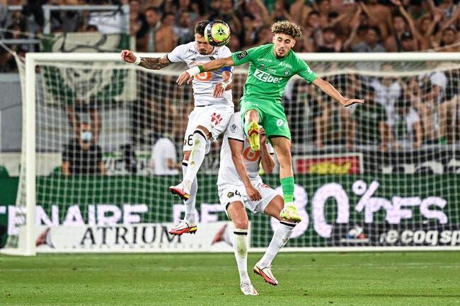 L1 : L'arbitre meilleur joueur de St-Etienne, Lille tousse