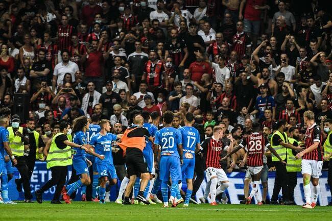 OGCN-OM : Nice tente pousser Marseille à reprendre le match