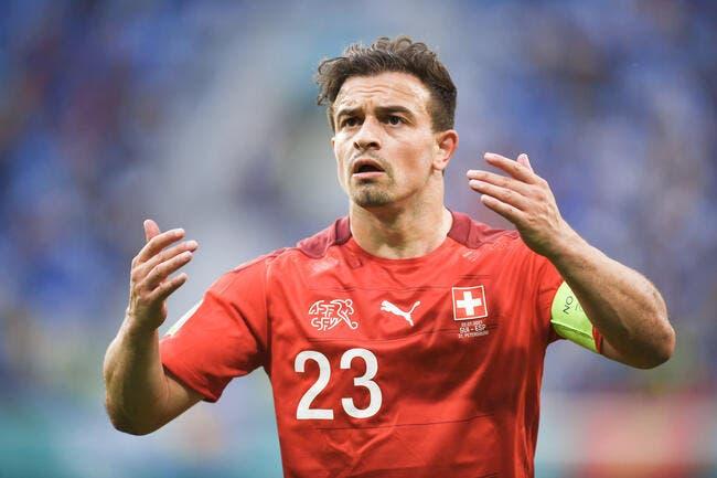 OL : Xherdan Shaqiri arrive enfin à Lyon !