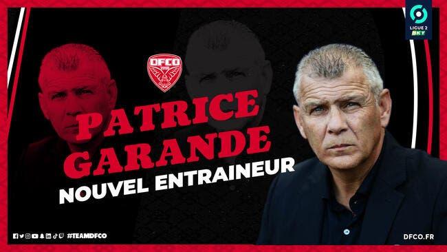 L2 : Garande nommé entraîneur de Dijon
