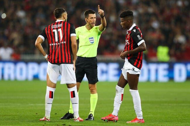 Nice - OM : L'arbitre voulait l'arrêt total du match