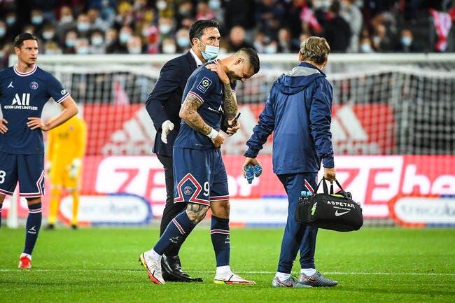 PSG : Icardi forfait 3 à 4 semaines