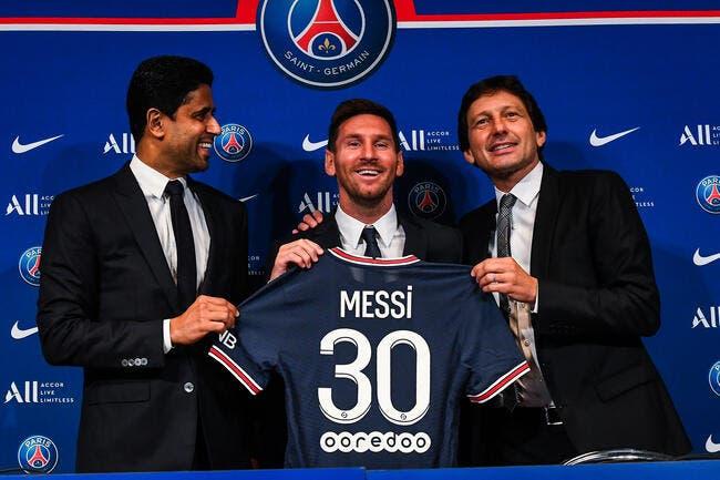 PSG : Le maillot Lionel Messi s'arrache, attente record à Paris !