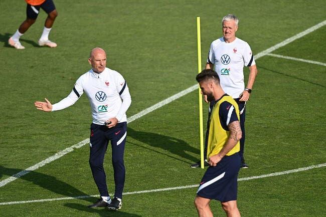 EdF : Giroud écarté, Deschamps ne regrette rien